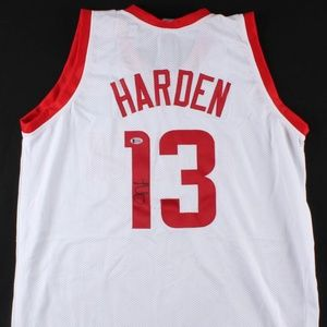 Other - James Harden Signed Houston Rockets Jersey (COA)